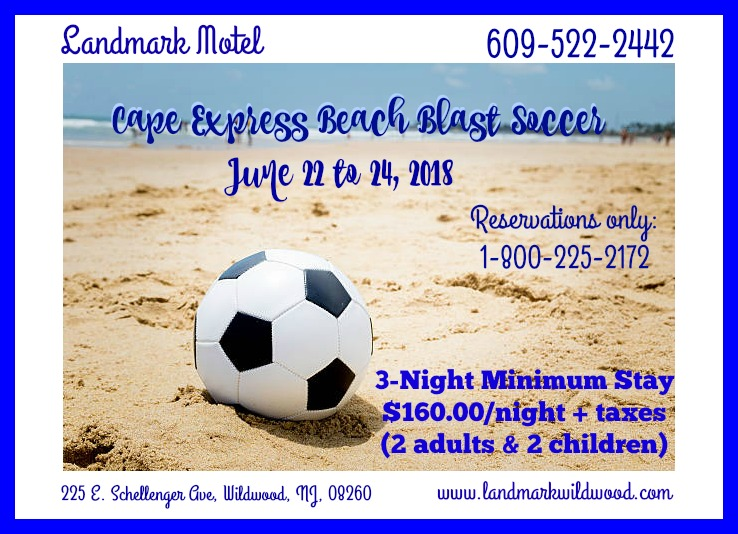 June Beach Blast - 2018 Prices