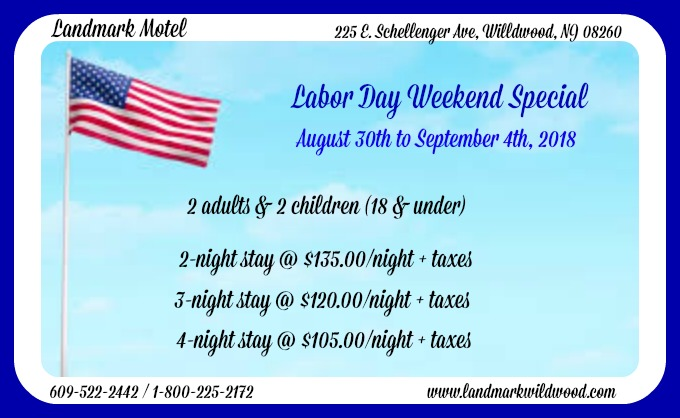 Labor Day Wkend 2018